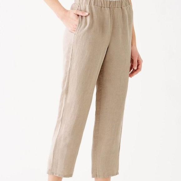 08965116c6217 J. Jill Pants - J.jill Everyday Linen Crop pants size M .